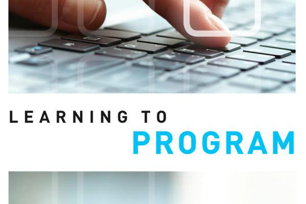 The cover of my book, Learning to Program