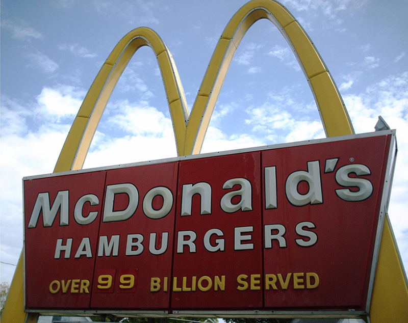 McDonald's serves billions - is that the goal?